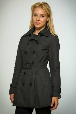 Trench negru pepit Be You