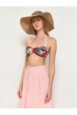 Sutien de baie Top Secret cu print floral