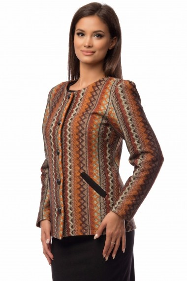 Sacou Indiana Cesy Fashion CSF 175 maro