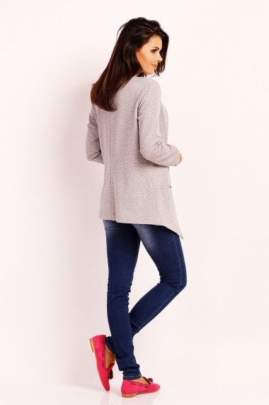 Cardigan FOGGY FG46 GREY Gri - els