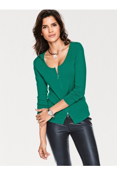 Cardigan Ashley Brooke by heine 165225 verde