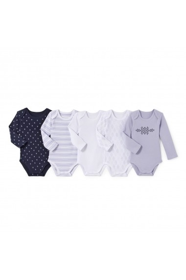 Set 5 body-uri La Redoute Collections LRD-GCS874 multicolor