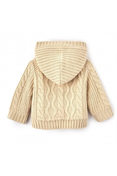Cardigan La Redoute Collections LRD-GDM770 ecru - els