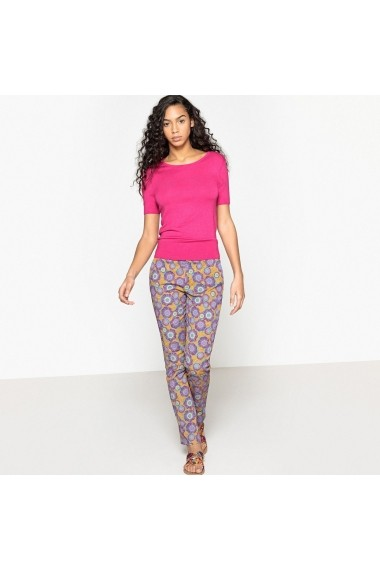 Pulover La Redoute Collections GEG825_fuchsia Fucsia