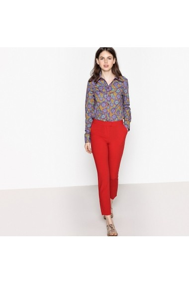 Pantaloni La Redoute Collections GEH574_Rouge Rosu