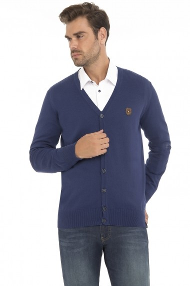 Cardigan Denim Culture MAS-B-14182 NAVY Bleumarin - els