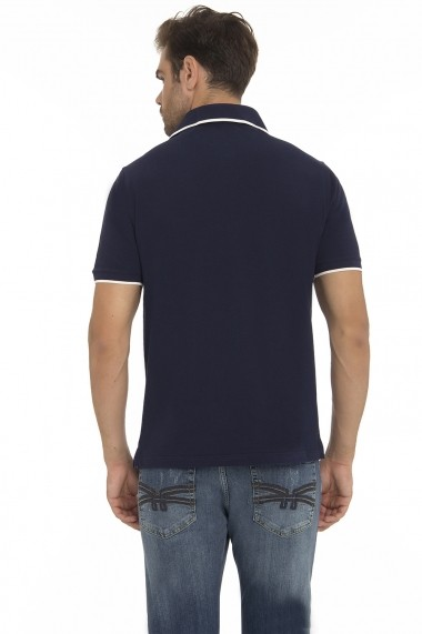 Tricou Polo Denim Culture MAS-B-203 NAVY Bleumarin - els