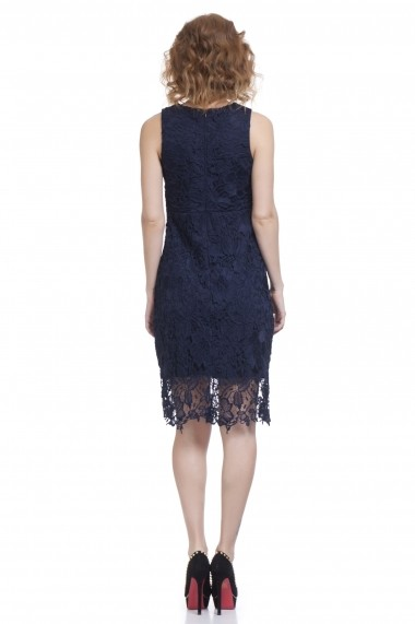 Rochie Chic by Tantra TAN-DRESS3051 Navy Bleumarin