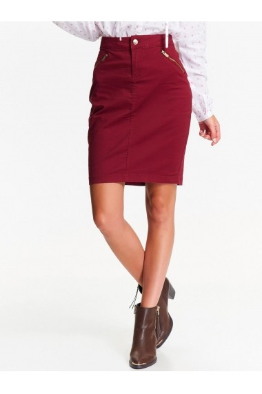 Fusta scurta Top Secret TOP-SSD1130CE bordo - els