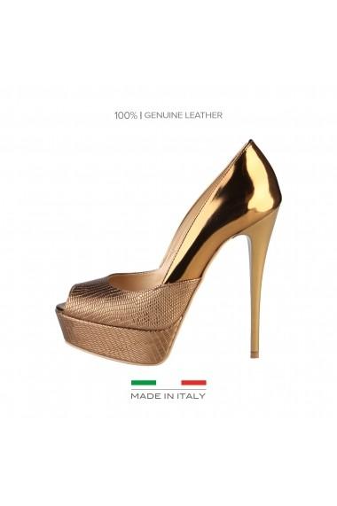 Pantofi Versace 1969 SEVERINE BRONZO