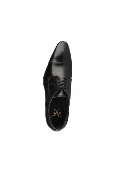 Pantofi Versace 1969 ALEXANDRE NOIR-BORDO