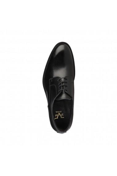 Pantofi Versace 1969 EDMOND NOIR-BORDO