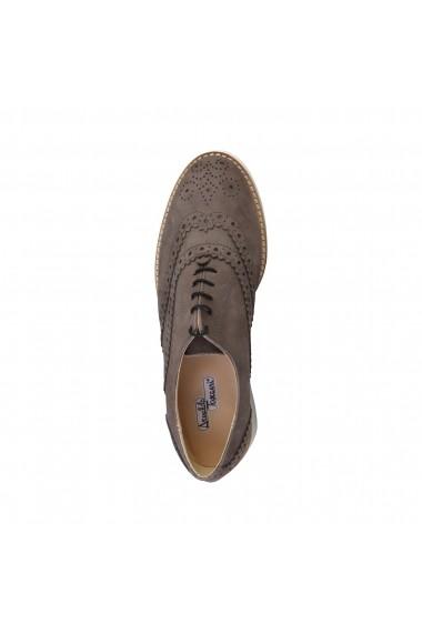 Pantofi Arnaldo Toscani 2110608_14VULCANO maro