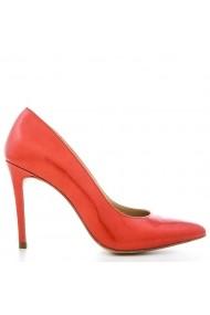 Pantofi pentru femei marca CONDUR by alexandru rosii cu detalii