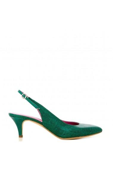 Pantofi decupati la spate CONDUR by alexandru din presaj verde