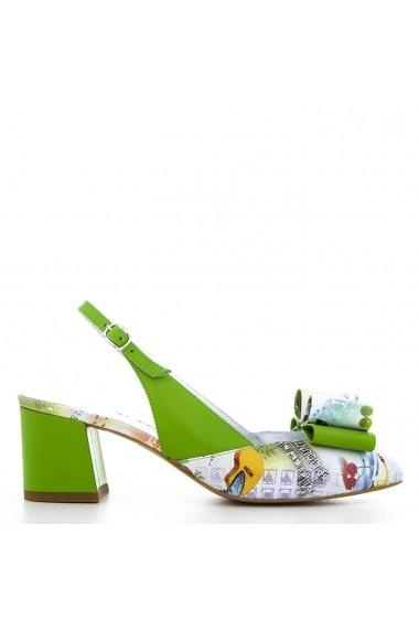 Sandale Pentru Femei Condur By Alexandru Verzi Cu Imprimeu Cirese