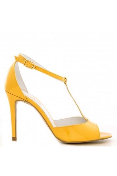 Sandale cu toc CONDUR by alexandru din lac galben