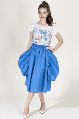 Fusta Lo Spaccio Gardenia albastru, preturi, ieftine