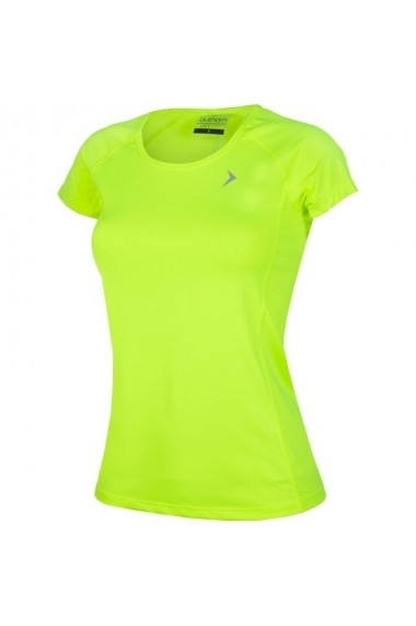 Tricou pentru femei Outhorn  W HOL17-TSDF603 neonowo-zielona