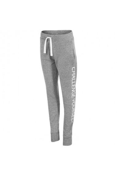 Pantaloni sport pentru femei 4f  W H4L17-SPDD004 szare
