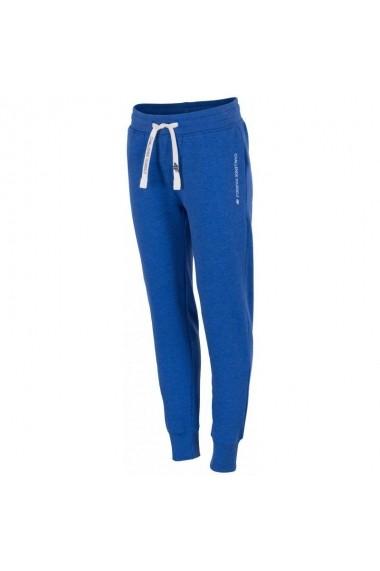Pantaloni sport pentru femei 4f  W H4L17-SPDD002 niebieskie