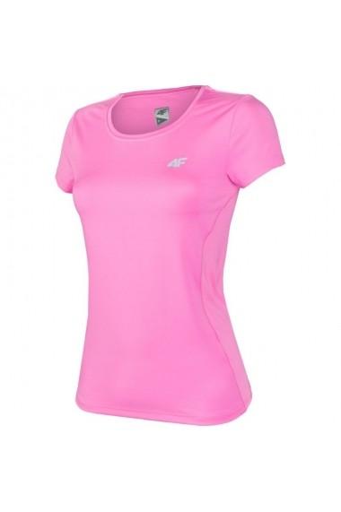Tricou pentru femei 4f  W H4L17-TSDF003 różowa