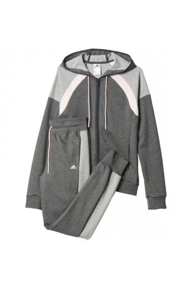 Trening pentru femei Adidas Young Cotton Tracksuit W AJ5947