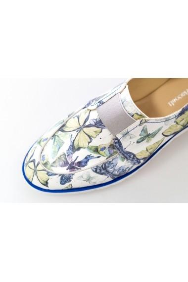 Pantofi pentru femei marca Thea Visconti cu imprimeu fluturi