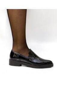 Pantofi pentru femei Thea Visconti negri cu talpa turnata