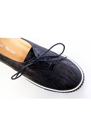 Pantofi Thea Visconti din negru lucios