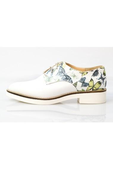 Pantofi Thea Visconti cu print fluturi pe talpa Gema