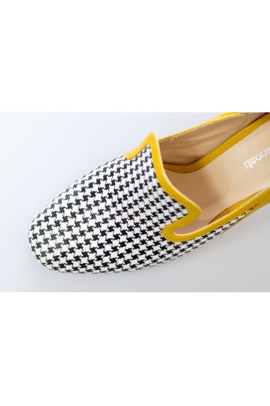 Pantofi Thea Visconti cu print
