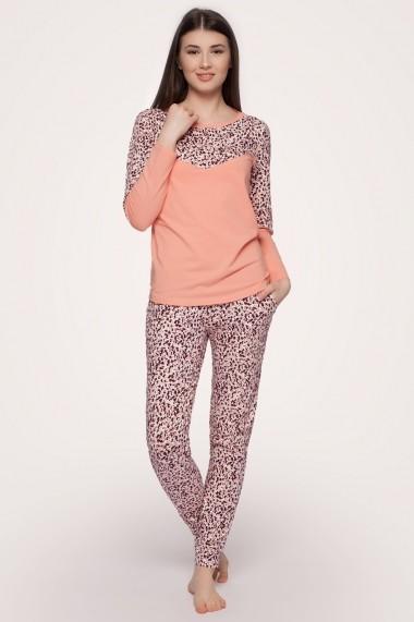 Pijama pentru femei SOFIAMAN corai din bumbac