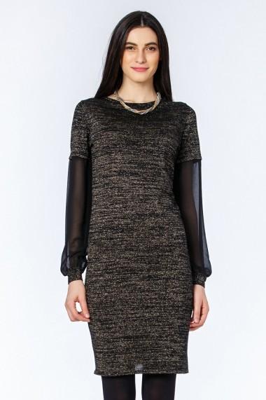 Rochie Sense tricotata Vera negru