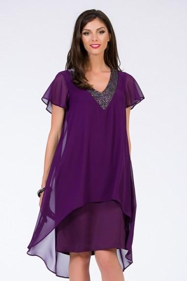Rochie Sense Dark Purple mov