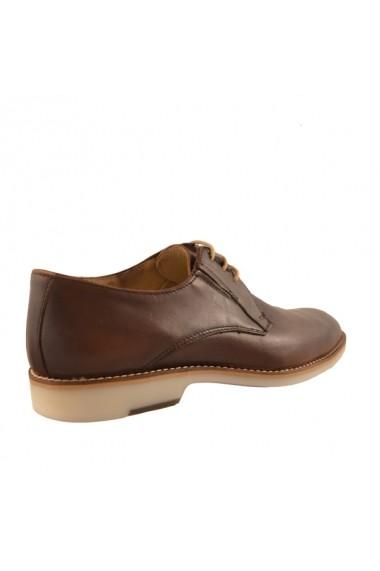 Pantofi pentru barbati marca Mopiel maro cu siret