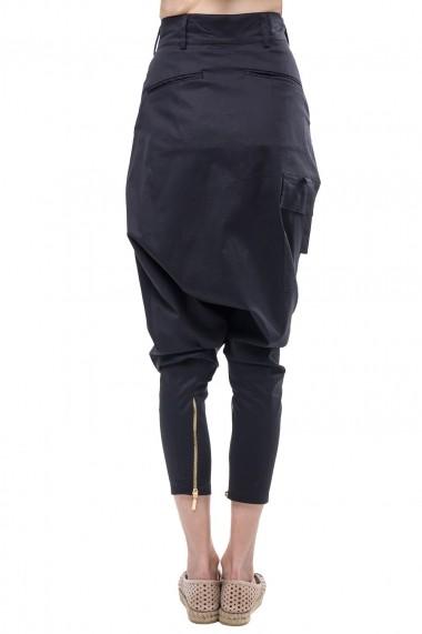 Pantalon Santa Barbara cu tur foarte lasat SBR-16-PW03BLACK