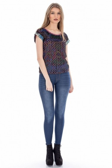 Colant Roh Boutique din blug - TR127 denim