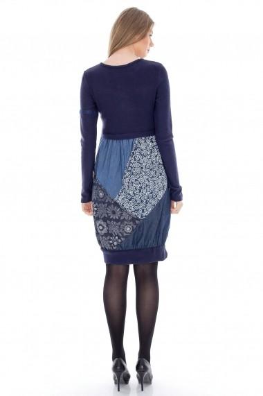 Rochie Roh Boutique gogosar - DR2280 bleumarin