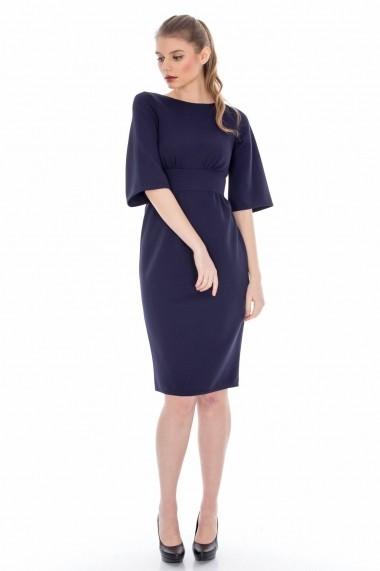 Rochie Roh Boutique midi - DR2285 bleumarin