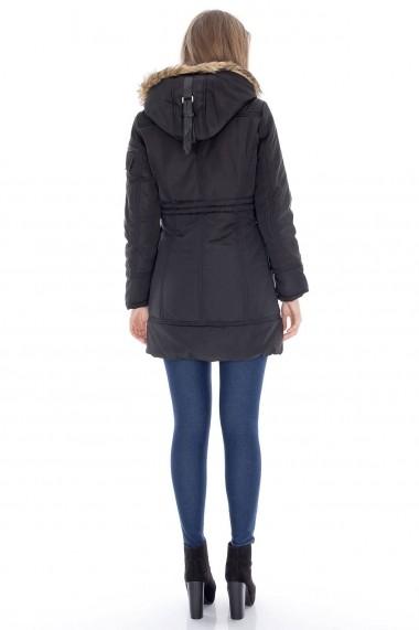 Geaca Roh Boutique neagra, eleganta - JR218 negru