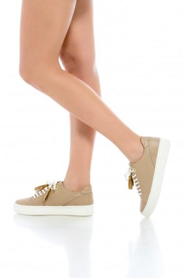 Pantofi sport pentru femei Casual Jade Beige Eugen Olteanu