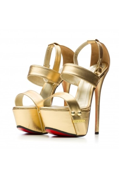 Sandale pentru femei Gold Milano by Eugen Olteanu