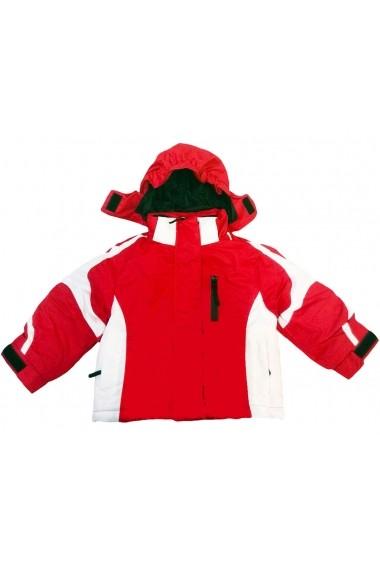 Geaca Winter Ski Alarm Red pentru Unisex Carodel MINI2883 rosu - els