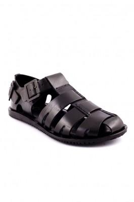 Sandale barbati OTTER negre BKMFS4388, preturi, ieftine