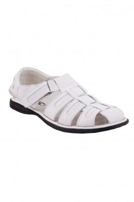 Sandale OTTER albe cu barete, preturi, ieftine