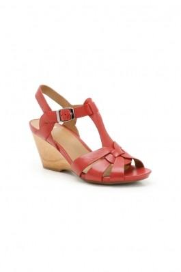 Sandale CLARKS rosii DKPOPPJIV