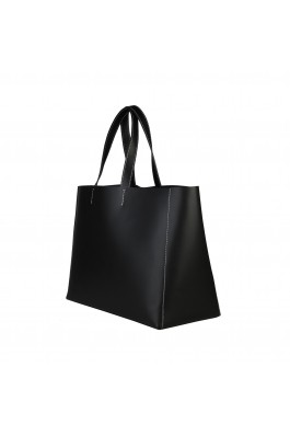 Geanta shopper Made in Italia ROMINA_NERO negru