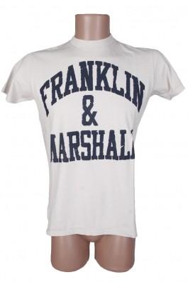 Tricou Franklin & Marshall cu maneci scurte - els, preturi, ieftine