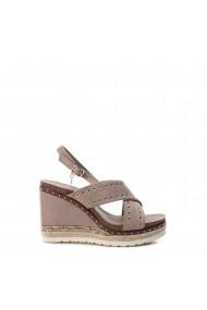 Sandale cu toc Xti 48922_TAUPE